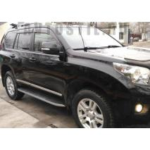TOYOTA LAND CRUISER PRADO 150 2017 Молдинги на двери черные