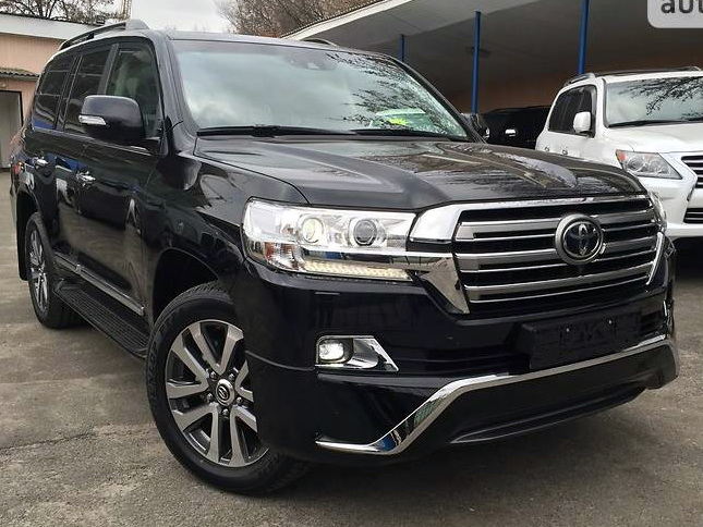 обвес executive toyota land cruiser 200 2016г