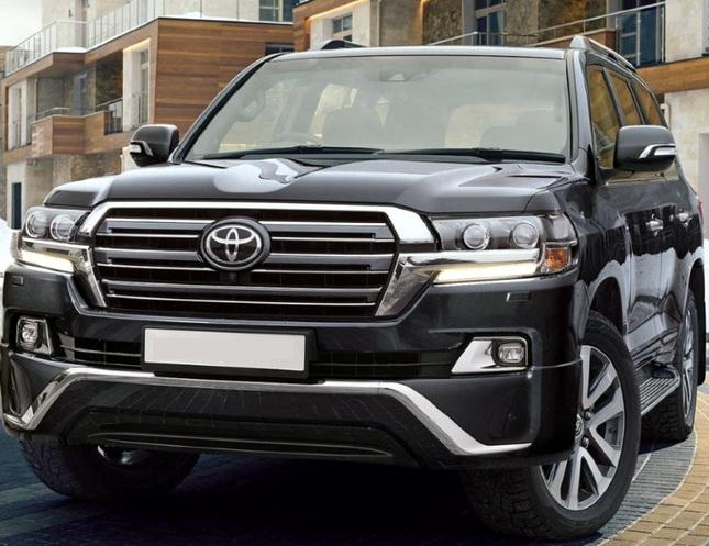 toyota land cruiser 200 executive обвес