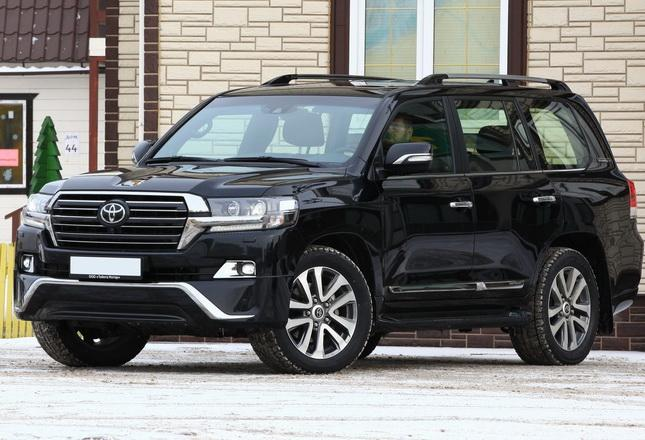 Toyota Land Cruiser 200 2016 обвес Executive