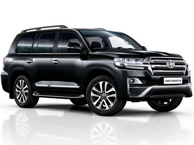 Toyota Land Cruiser 200 2015 обвес Executive