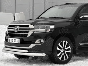 Передняя защита Toyota Land Cruiser 200 Ececutive Lounge